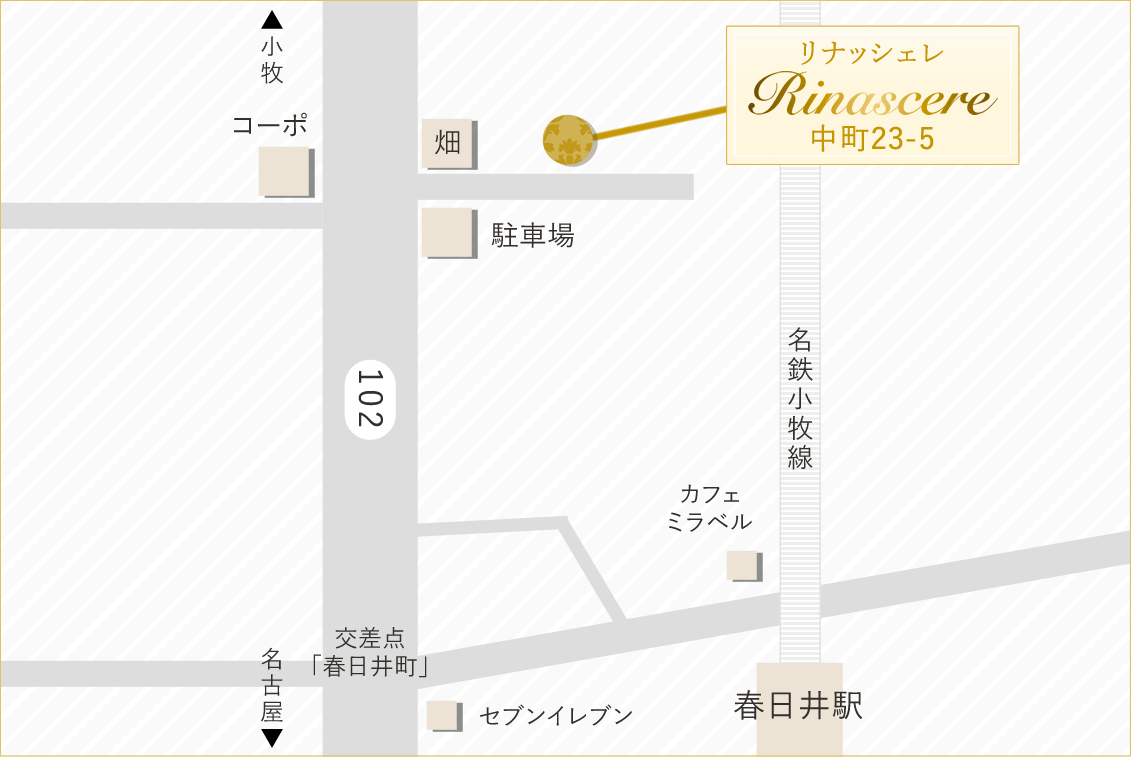 https://salon-rinascere.jpのmap